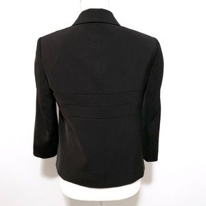 Anne Klein Jackets & Coats - Anne Klein black stretch spandex suit blazer